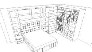 Giyinme Odası Projesi