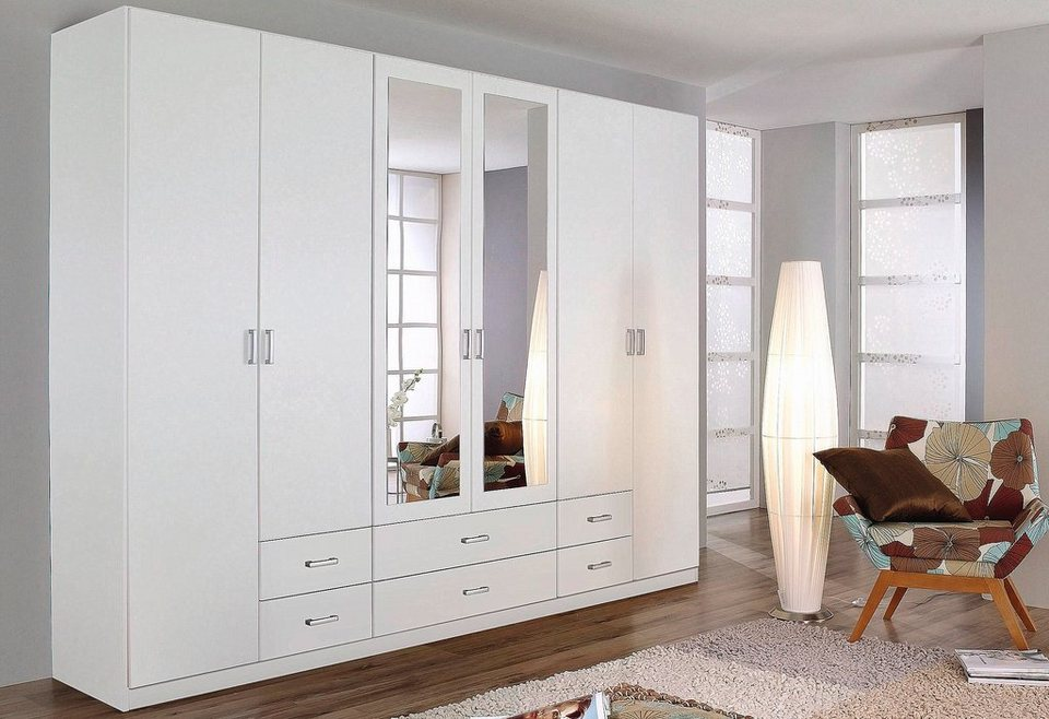 rauch kleiderschrank weiss albero ray dolap. Black Bedroom Furniture Sets. Home Design Ideas